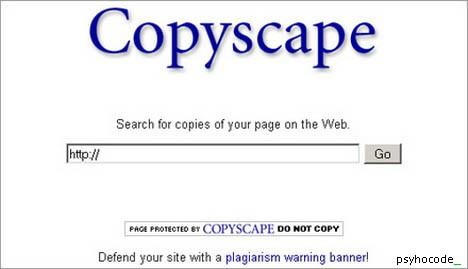 copyscape http