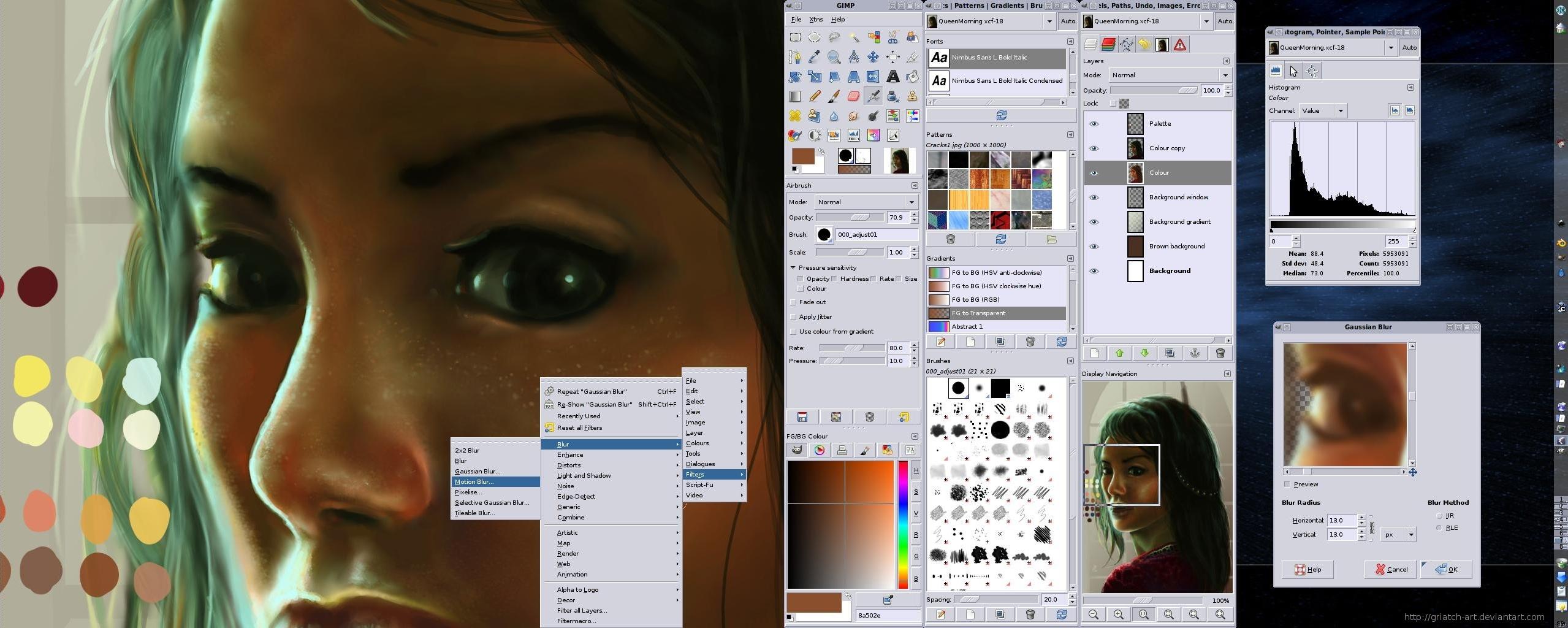 linux_dualscreen_griatch_art