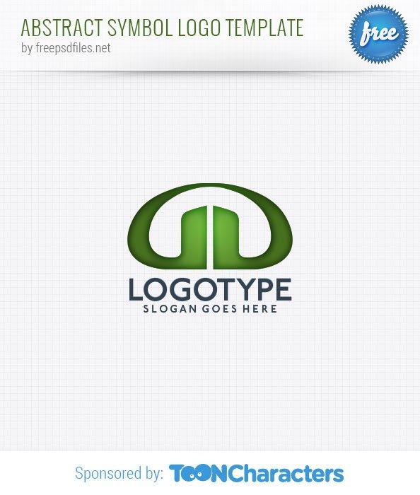 Шаблон логотипа абстрактного символа