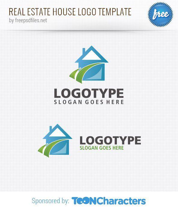 Шаблон логотипа дома