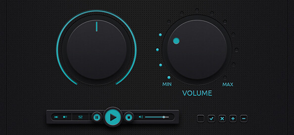 Free-PSD-Music-Control-Buttons-small-preview