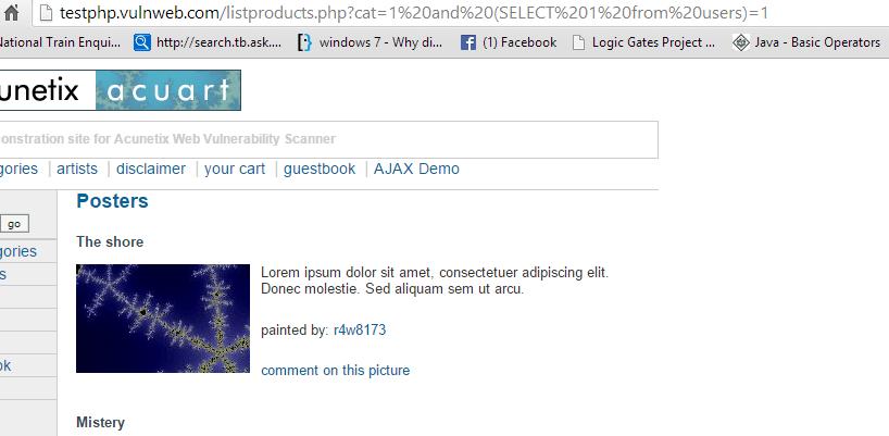 Слепая SQL инъекция_357688