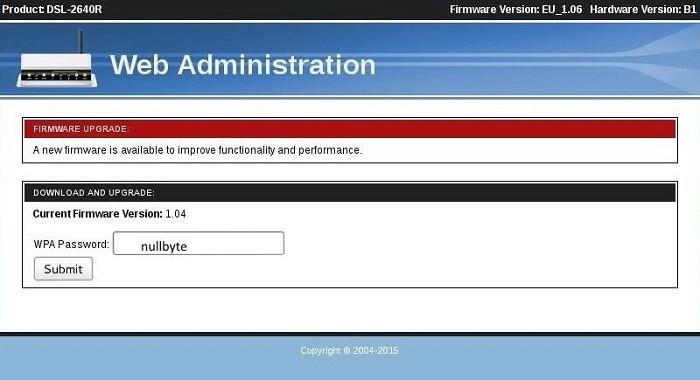 Атака с получением пароля