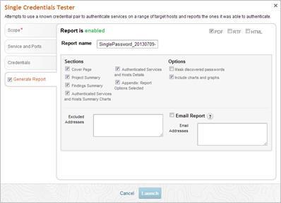 MetaModule - тестирование единого пароля