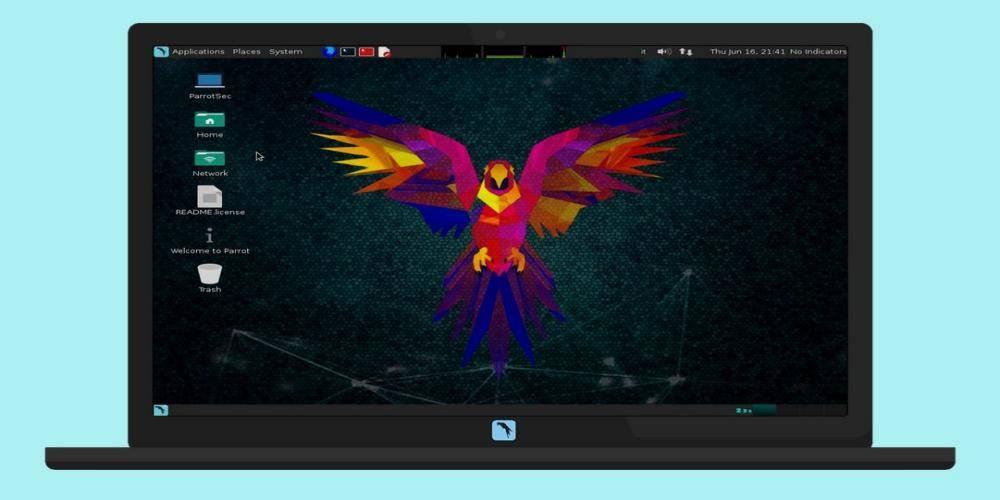 Parrot Project parrot security GNU/Linux
