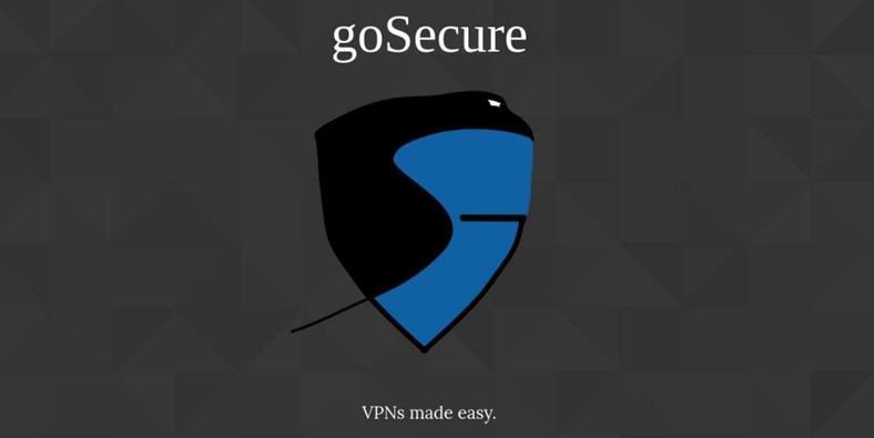 goSecure - портативная виртуальная частная сеть