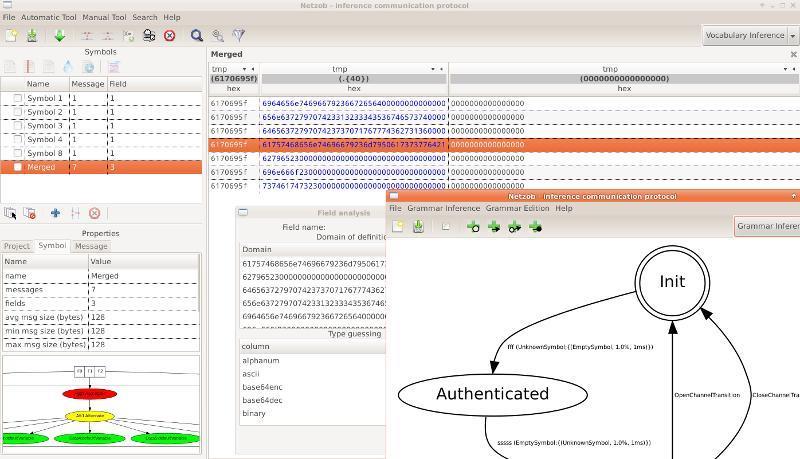 Netzob - обратная инженерия протоколов связи