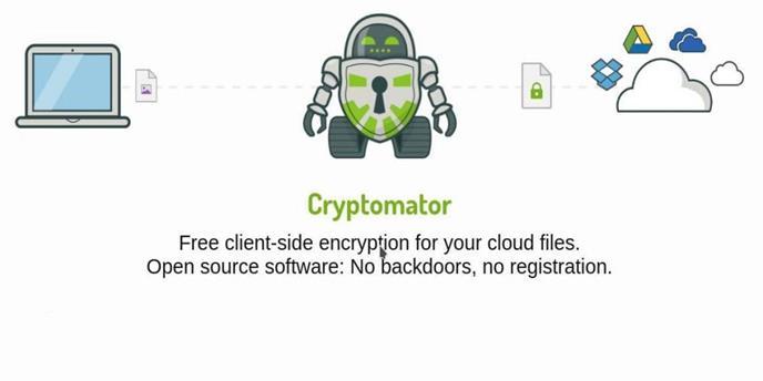 Cryptomator - шифрование файла со стороны клиента в облаке
