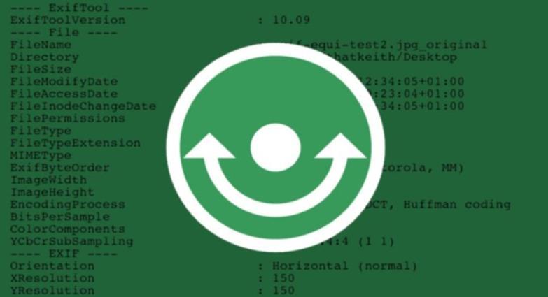 Независимый от платформы редактор метаданных: ExifTool