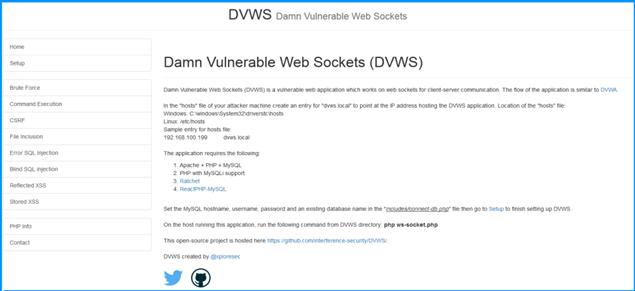 DVWS - проклятые уязвимые веб-сокеты