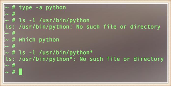 Команда Python не найдена