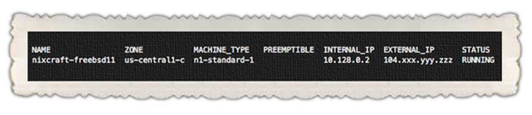 Как развернуть FreeBSD 11 в Google облаке