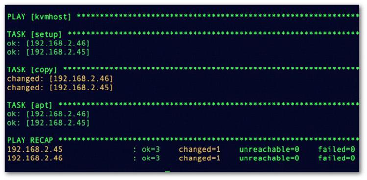 Как создать новый файл config в Ansible playbook