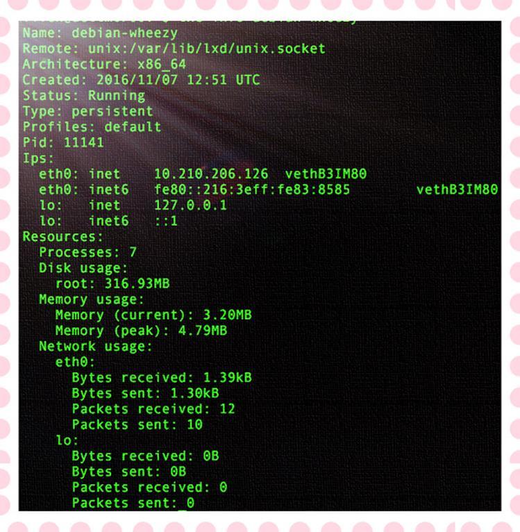 Как переименовать LXD-управляемый контейнер LXC в операционной системе Linux?