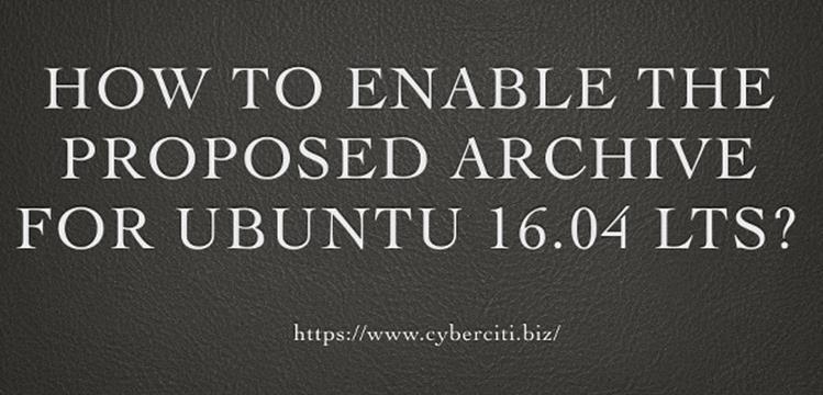 Как активировать предлагаемый архив репозитория на Ubuntu Linux для установки пакетов