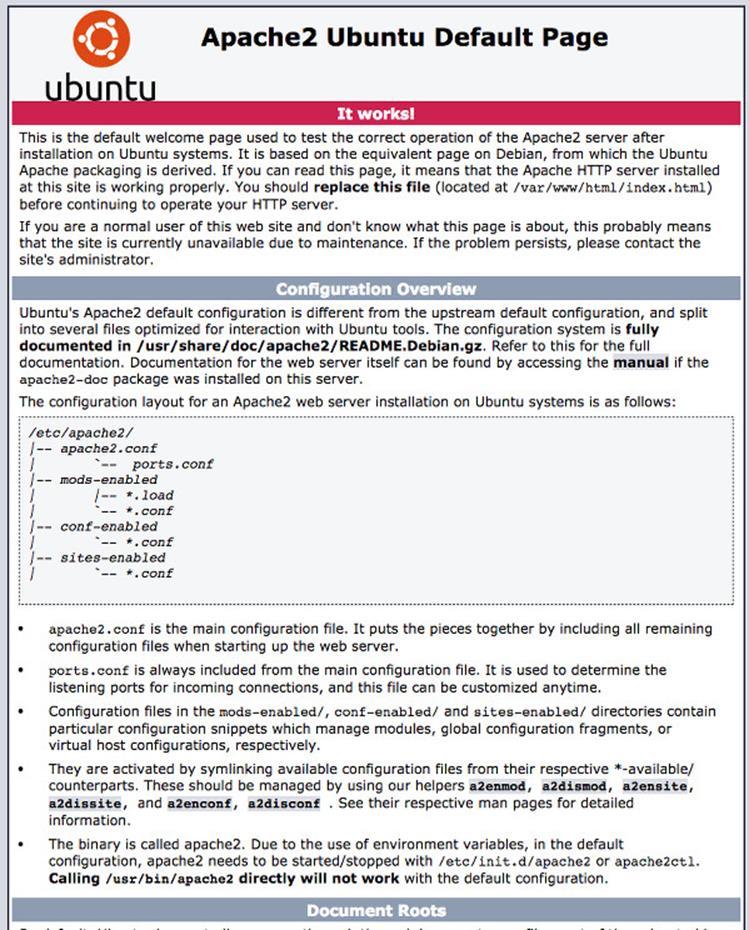 Настройте Apache для использования на IP адресе 192.168.1.6 и порту 80