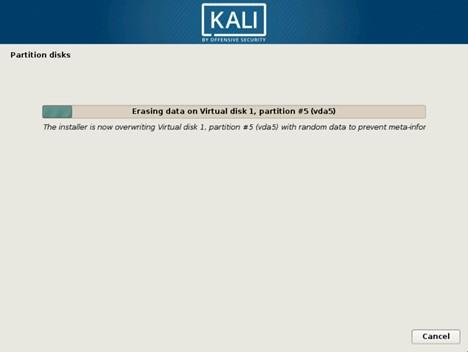 Удаление данных в зашифрованном разделе