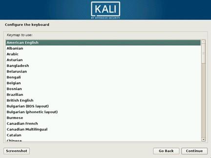Как установить кали линукс на жесткий диск